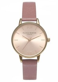 Olivia Burton Midi Dial Watch - Rose & Rose Gold