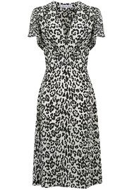 Lily and Lionel Ruby Dress - Leopard Mono