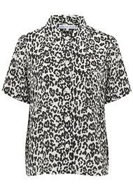Lily and Lionel Ashley Shirt - Leopard Mono
