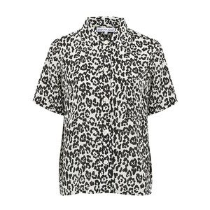 Ashley Shirt - Leopard Mono