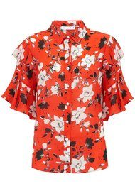 Lily and Lionel Frankie Shirt - Red Magnolia