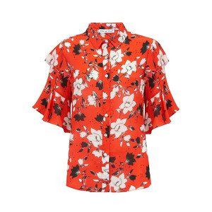 Frankie Shirt - Red Magnolia