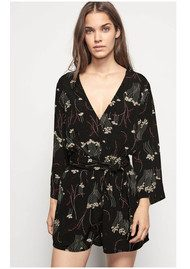 Ba&sh Khan Playsuit - Black