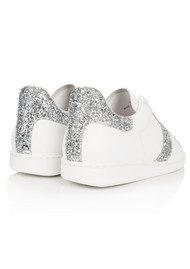 AIR & GRACE Copeland Trainer - Silver Glitter