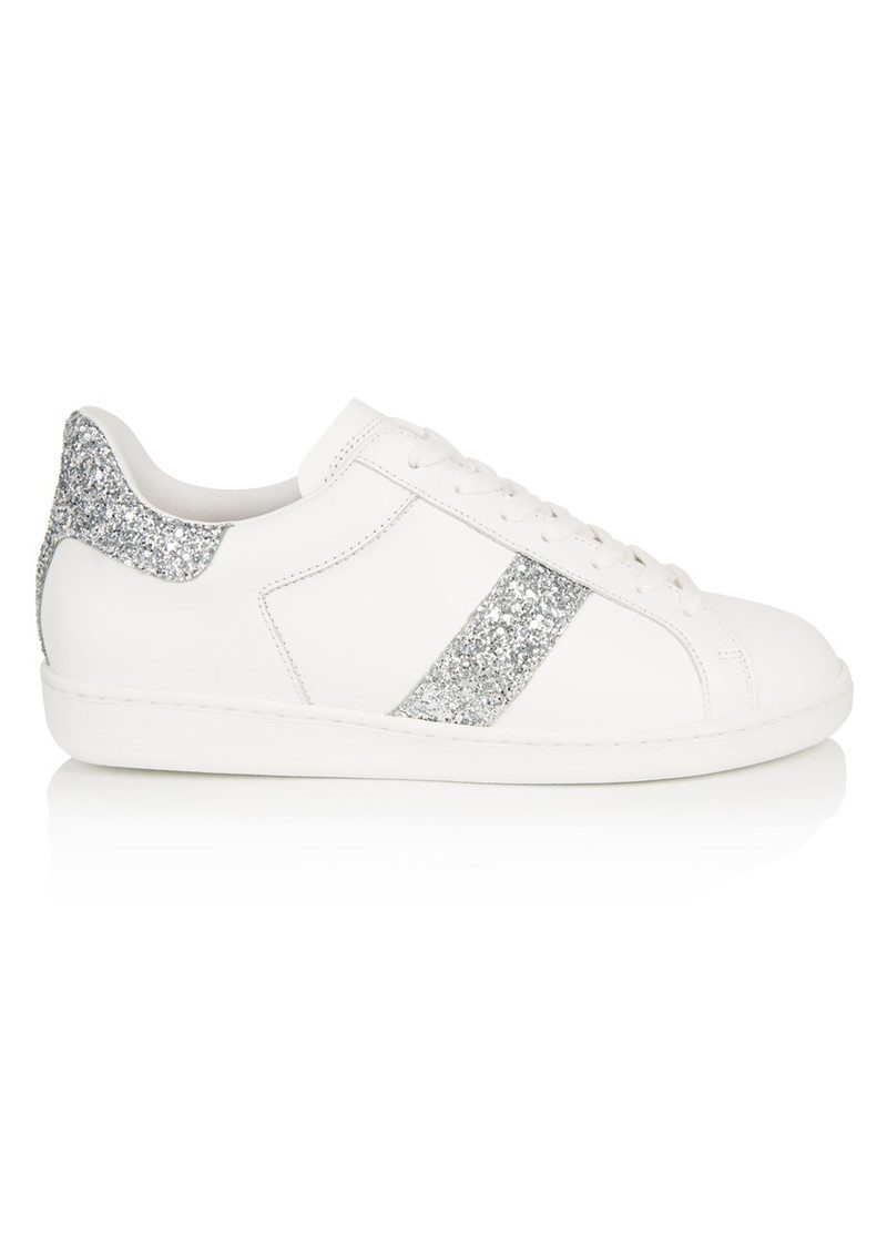 AIR & GRACE Copeland Trainer - Silver Glitter main image