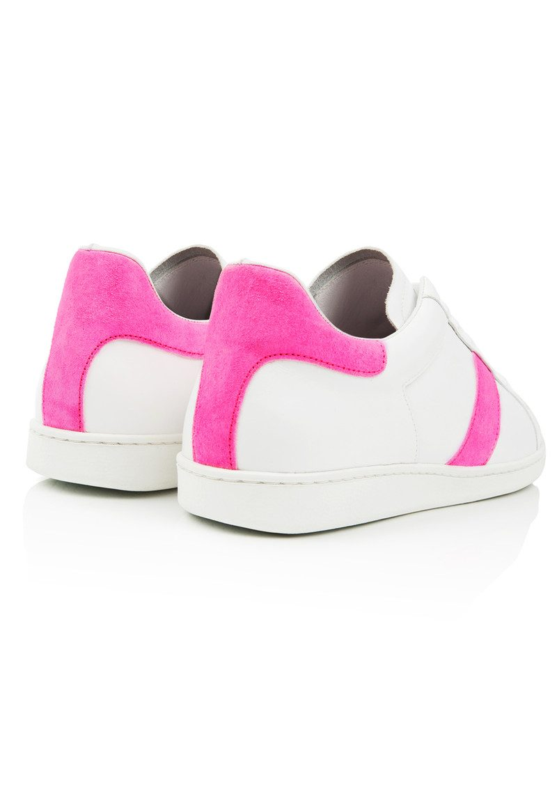 AIR & GRACE Copeland Trainer - Neon Pink main image