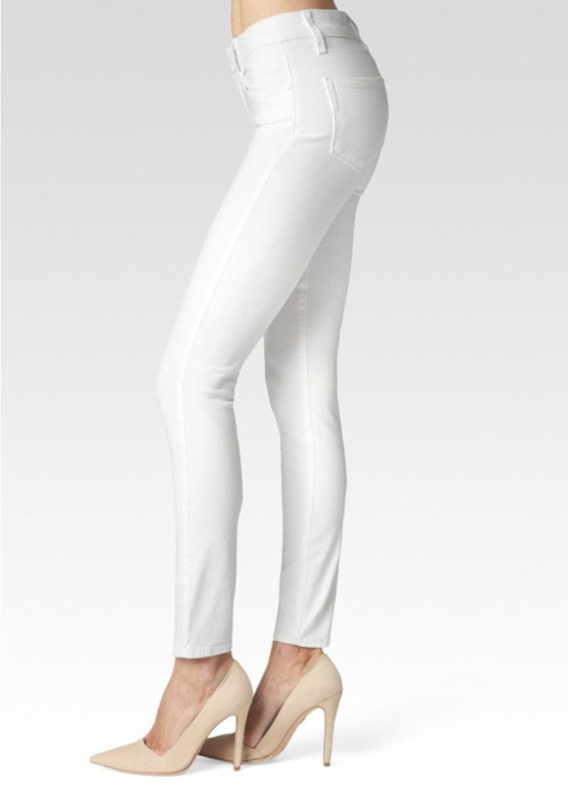 Hoxton Ankle Peg Ultra Skinny Cropped Jeans - Ultra White main image
