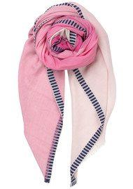 Becksondergaard Vikke Cotton Scarf - Pink Yarrow