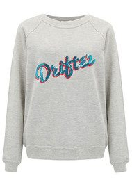 UZMA BOZAI Drifter Embellished Sweater - Grey