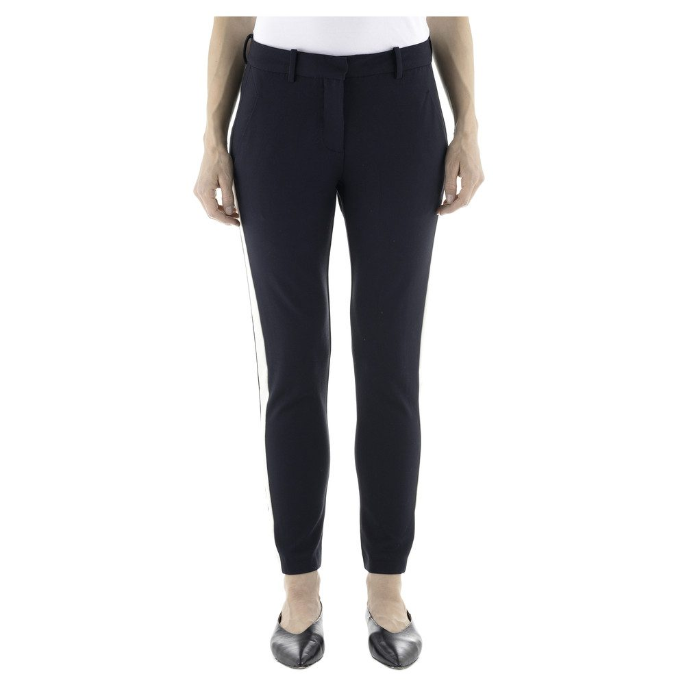 Kylie 285 Crop Pants - Navy Panel