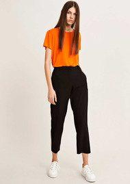 SAMSOE & SAMSOE Louisa Crop Pants - Black Puffins