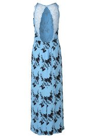 SAMSOE & SAMSOE Willow Lace Long Dress - Blue Bloom