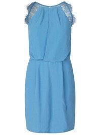 SAMSOE & SAMSOE Willow Short Dress - Silver Lake Blue