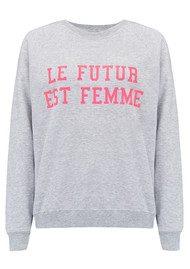 ON THE RISE Le Future Est Femme - Grey & Pink
