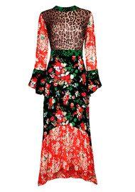 RIXO London Chrissy Dress - Bunch Floral