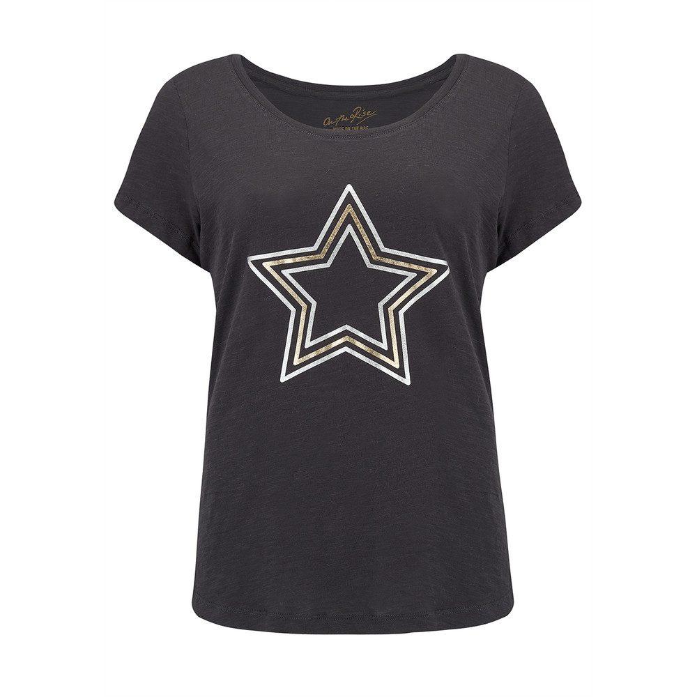 Concentric Stars Tee - Black