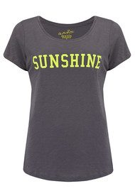 ON THE RISE Sunshine Tee - Grey