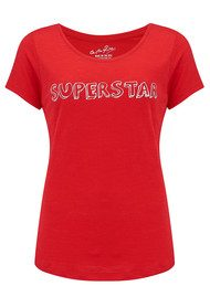 ON THE RISE Superstar Tee - Red