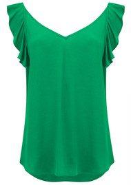 Ba&sh Tanger Top - Green