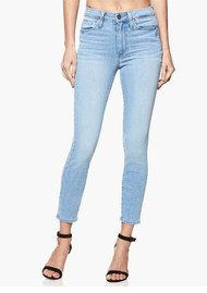 Paige Denim Margot High Rise Super Skinny Crop Jeans - Lumina