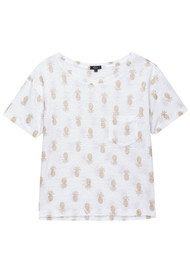 Rails Billie Top - Gold Pineapple
