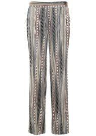 DEA KUDIBAL Riva Trousers - Rows Grey