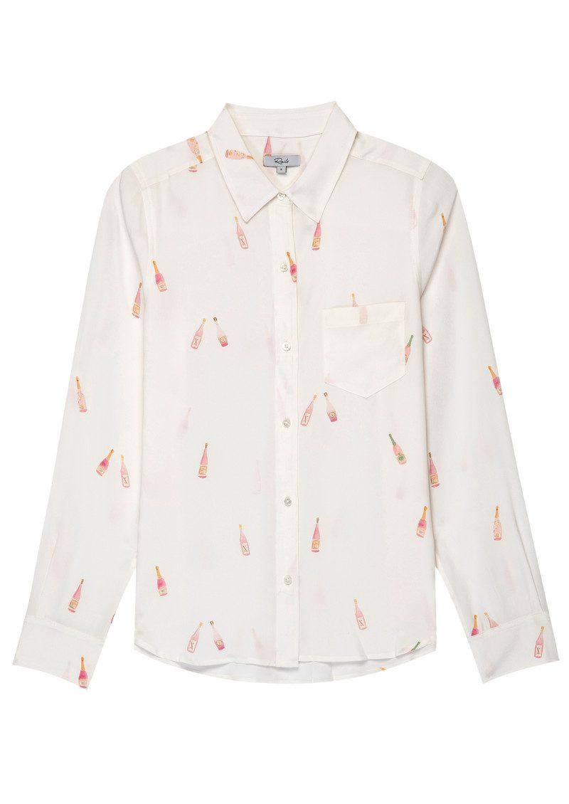 ab03ccb1180a43 Kate Silk Shirt - Rose All Day main image