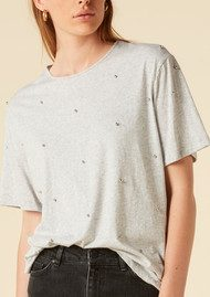 Twist and Tango Ina Tee - Grey Melange