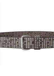 Liebeskind Studded Belt - Stone