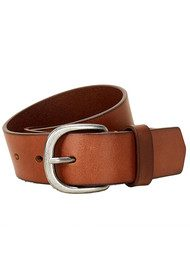 Liebeskind Classic Leather Belt - Cognac