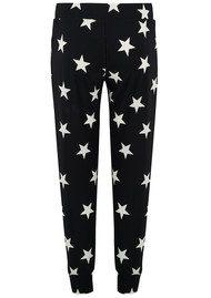 KAMALI KULTURE Side Stripe & Stars Jog Pant - Black