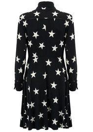 KAMALI KULTURE Side Strip Shirt Flared Dress - Stars & Stripes