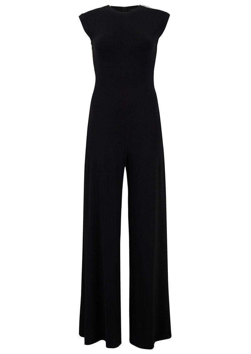 43561a5aef4 NORMA KAMALI Side Stripe Sleeveless Jumpsuit - Black main image ...