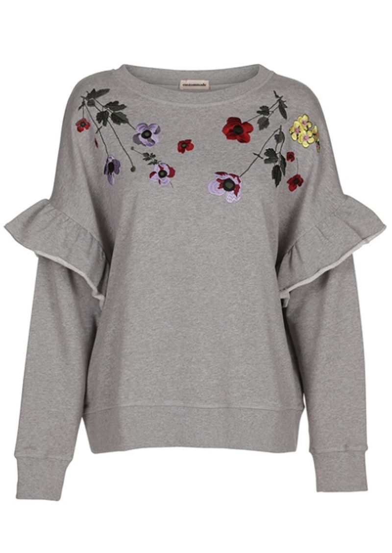 CUSTOMMADE Estel Sweater - Grey Melange main image