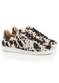 AIR & GRACE Copeland Trainers - Cow Print