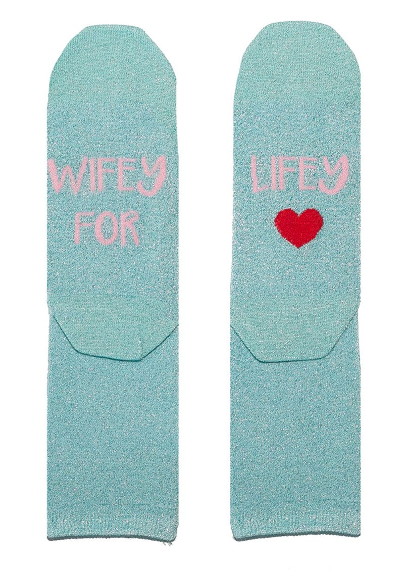 Sparkle Socks - Wifey for Lifey main image