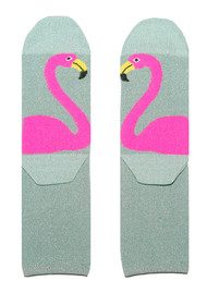UNIVERSE OF US Sparkle Socks - Flamingo