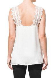 CAMI NYC Chelsea Charmeuse Camisole - White