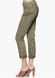 Brigitte Slim Boyfriend Jeans - Vintage Green