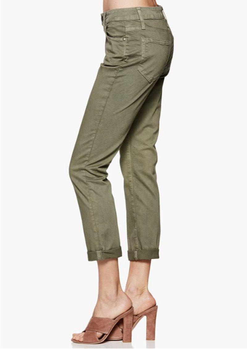 Paige Denim Brigitte Slim Boyfriend Jeans - Vintage Green main image
