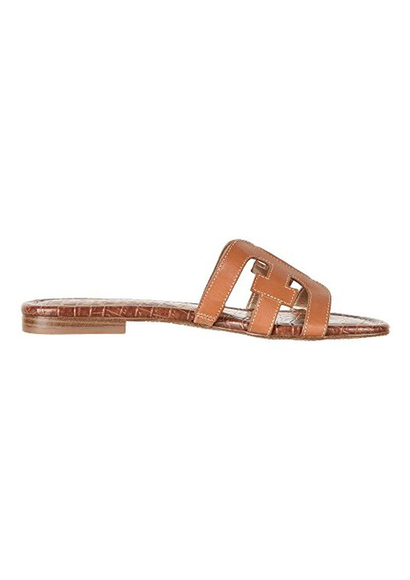 Sam Edelman Bay Leather Sandals - Saddle main image