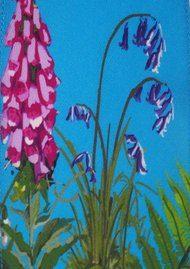 ROCKINS Super Skinny Scarf - Magic Meadow Blue