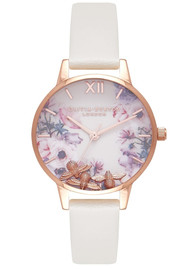 Olivia Burton Busy Bee's Midi Watch - Nude & Rose Gold