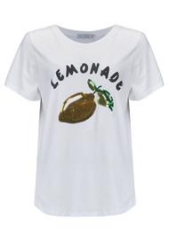 SOUTH PARADE Lola Lemonade Tee - White