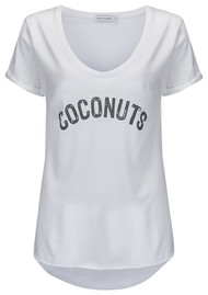 SOUTH PARADE Valerie Coconuts Tee - White