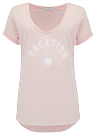 SOUTH PARADE Valerie Vacation Tee - Pink
