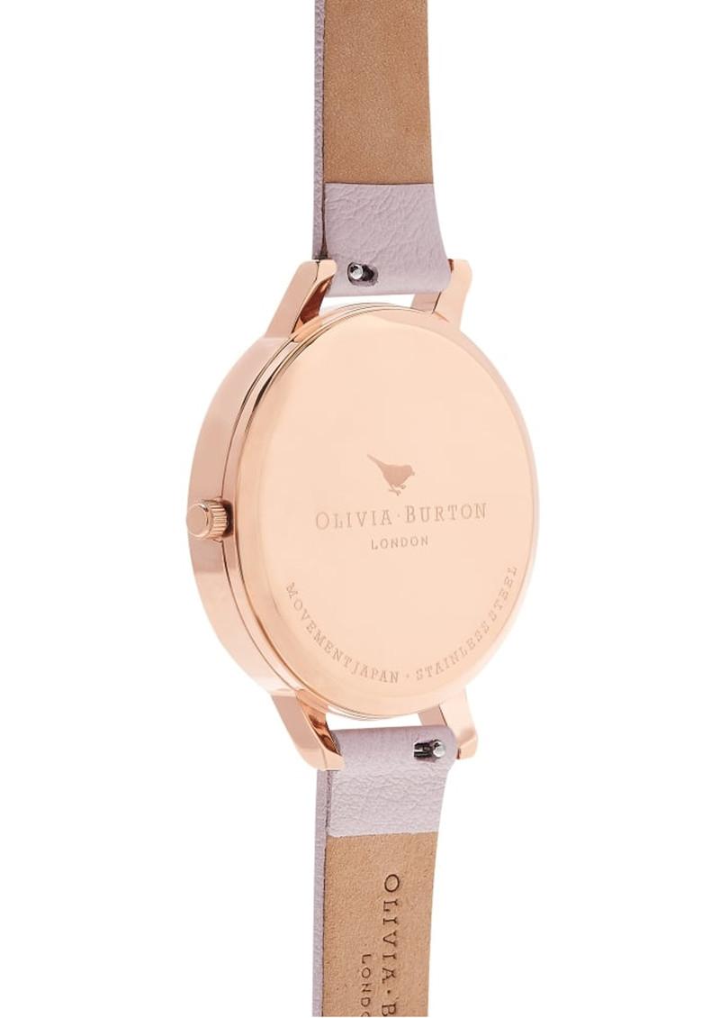Olivia Burton Pretty Blossom Big Dial Bird Watch - Blossom & Rose Gold main image
