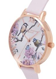 Olivia Burton Pretty Blossom Big Dial Bird Watch - Blossom & Rose Gold