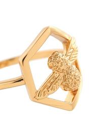 Olivia Burton Honeycomb Bee Ring - Gold