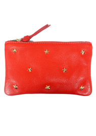 MERCULES Star Pouch Wallet - Red